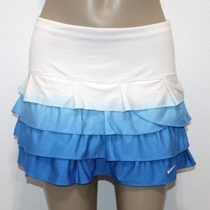 NIKE Tennis Skirt Skorts Shorts Ruffle XS